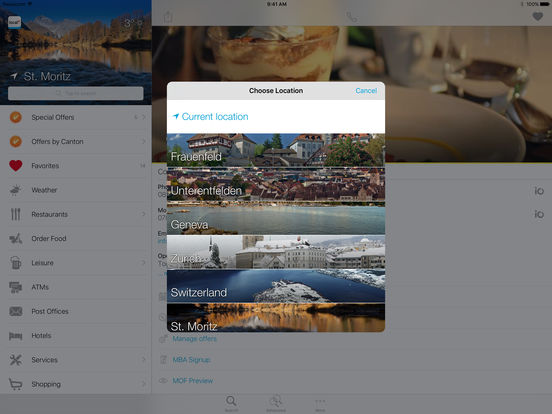 Swiss Phone Book iPad Screenshot 3