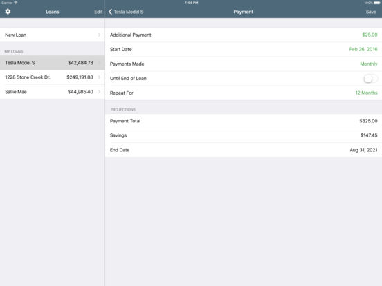 Loans Lite: Personal Loan Assistant iPad Screenshot 4
