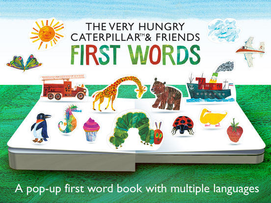 The Very Hungry Caterpillar– First Words Screenshots