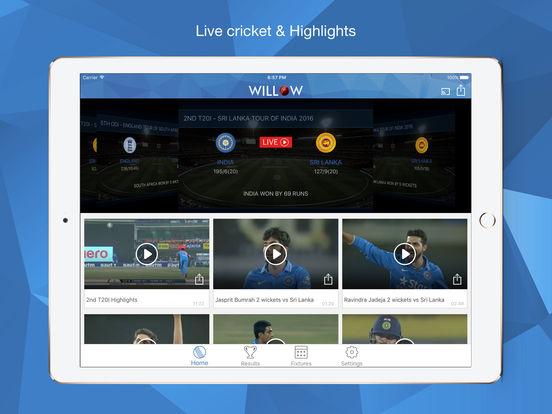 Willow TV iPad Screenshot 2