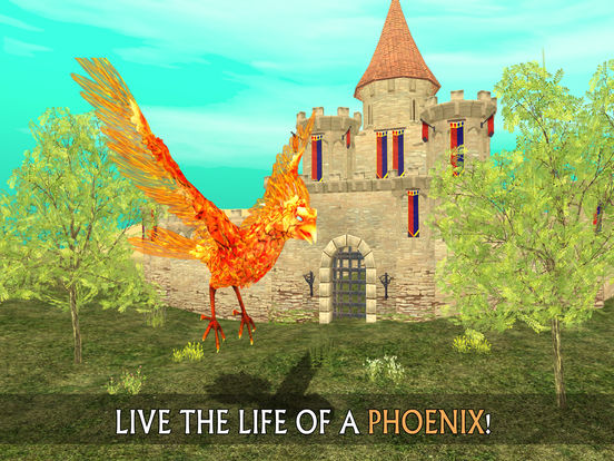 Phoenix Sim 3D - Fantasy Adventuresscreeshot 1
