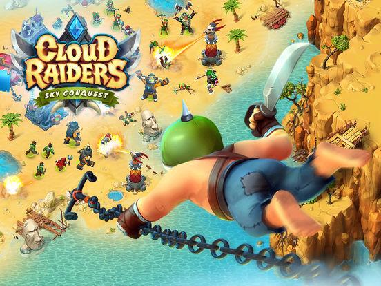 Screenshots of Cloud Raiders for iPad