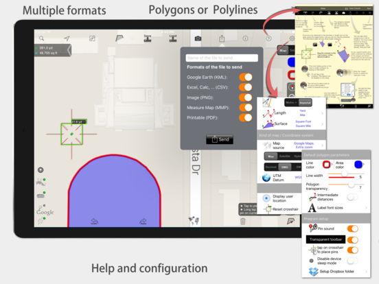 Measure Map iPad Screenshot 4