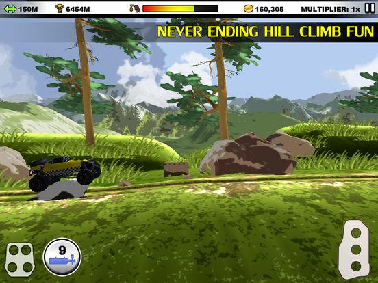 Hill Climb Forever на iPad