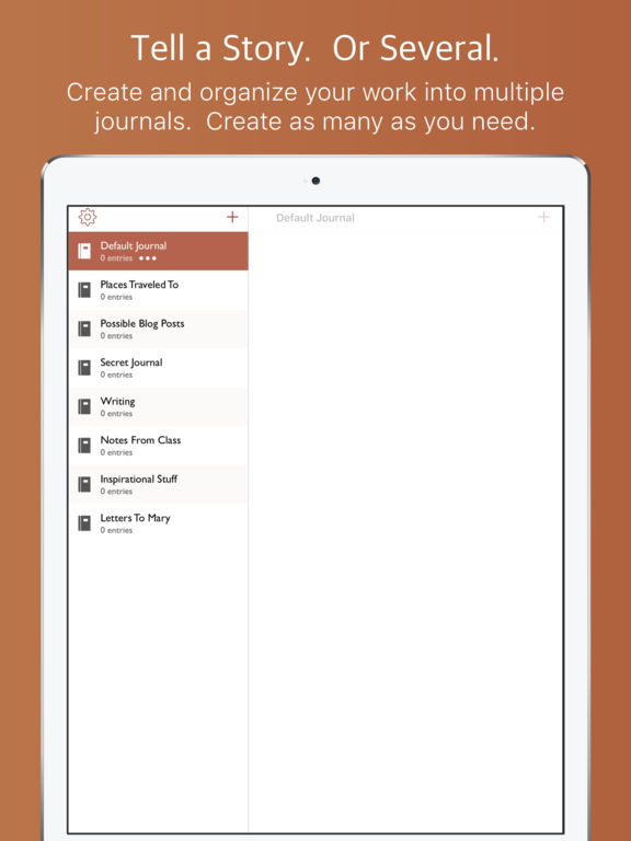 Jupiter Journals - Keep a Personal Journal Screenshots