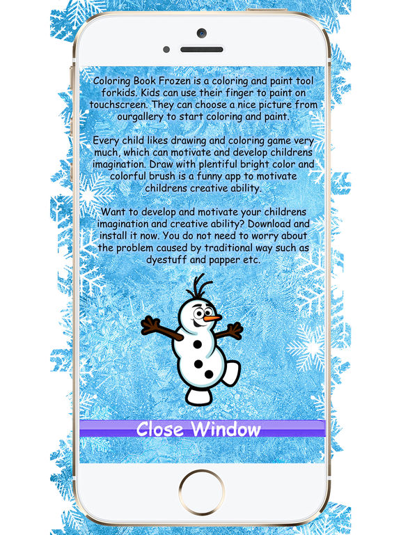Coloring Book Frozen Download : Coloring book frozen on the app store