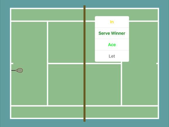 ProTracker Tennis. screenshot