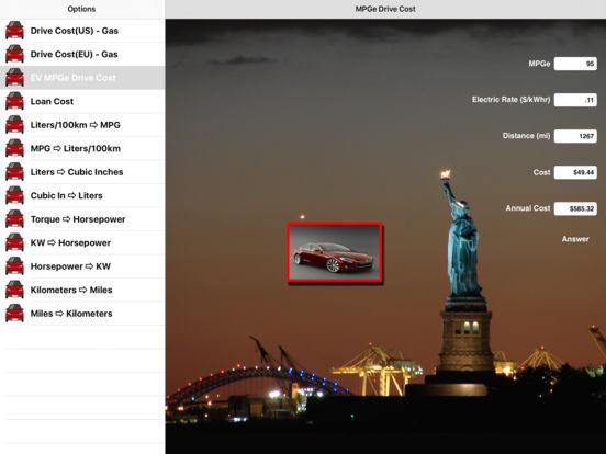 CarFacts iPad Screenshot 2