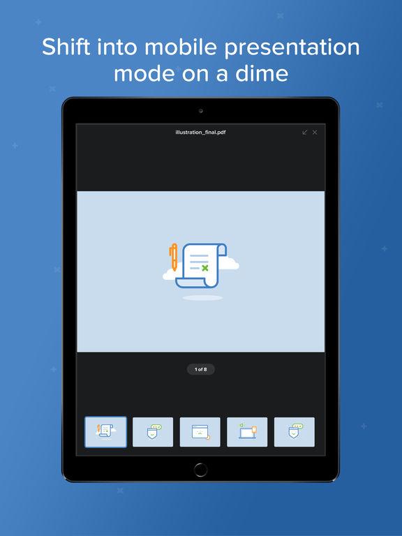 Voxeet Conferencing screenshot