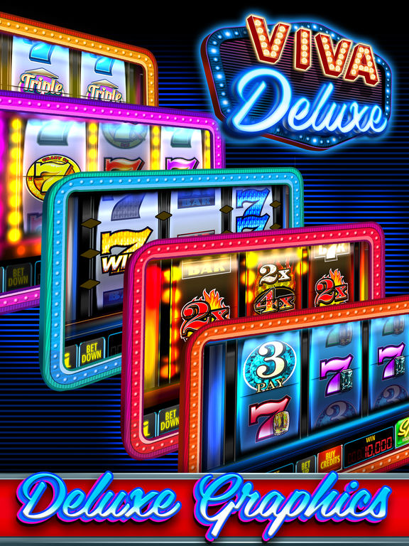 slot machine deluxe app