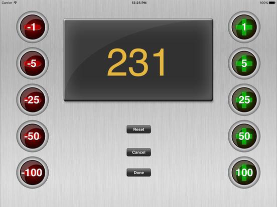 All Counter iPad Screenshot 2