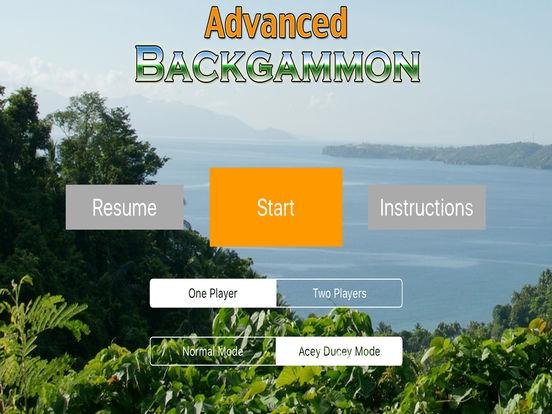 Advanced Backgammon iPad Screenshot 2