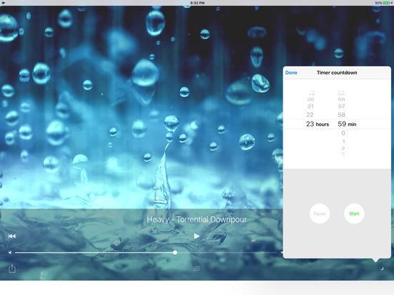 Sleepmaker Rain Free iPad Screenshot 5