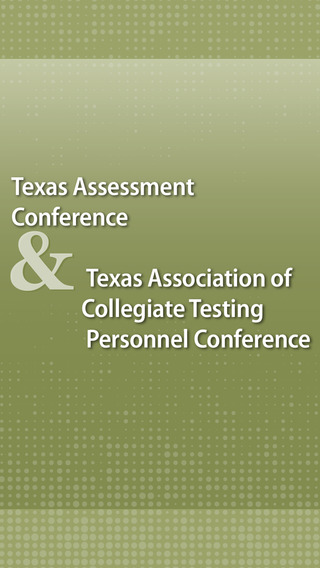 Texas Assessment TACTP Conference