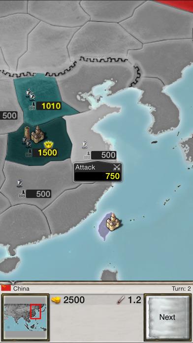 Age of Conquest: Asia iPhone Screenshot 1