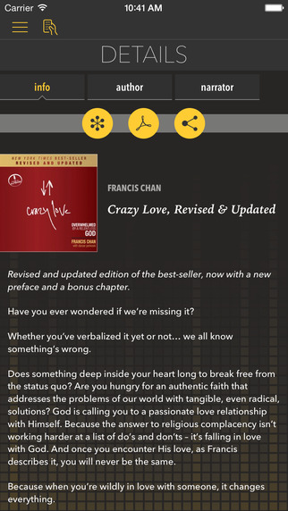 Crazy Love [by Francis Chan]