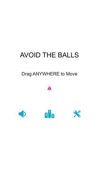 Avoid the Balls escape from machine gun shots all around