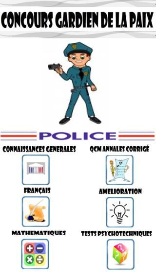 Concours Police Gardien De La Paix
