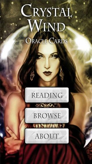 Crystal Wind Oracle Cards Lite