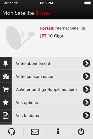 Mon Satellite & moi screen