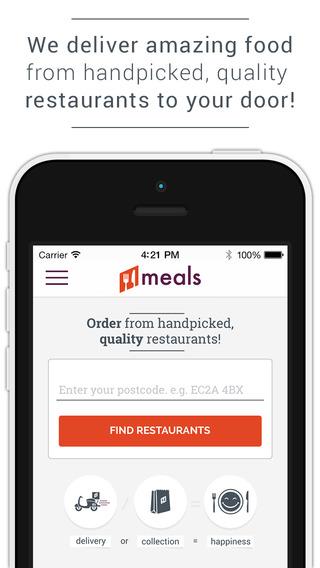 Meals Premium Restaurant Food Delivery