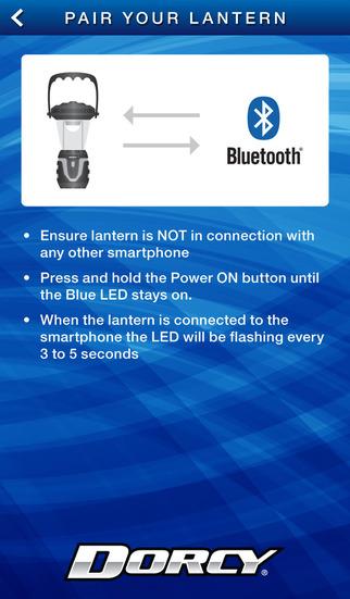 Dorcy App Controlled Lantern