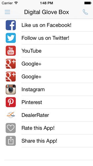 Wilkie Lexus iPhone Screenshot 5