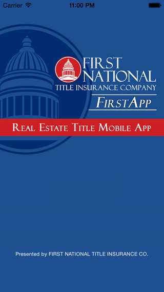 FIRST App – Real Estate Title