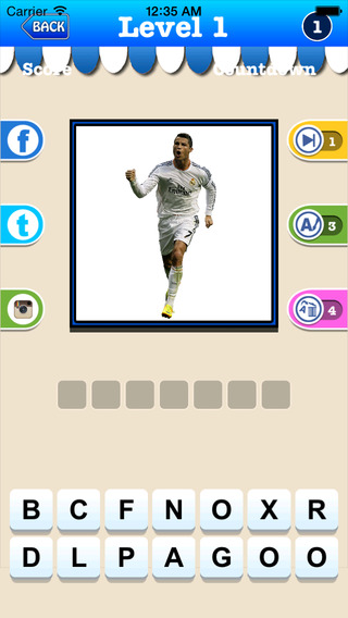 Soccer Trivia Game - Guess the Professional Football Players Quiz 2k15