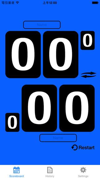 Badminton Scoreboard - Free