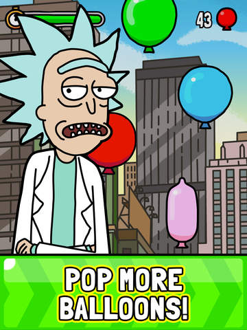 Screenshots of Rick and Morty Presents: Jerry's Game for iPad