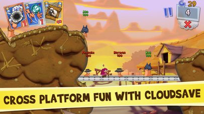 Screenshots of Worms3 for iPhone