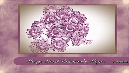 Merry eCard Valentine's Magic