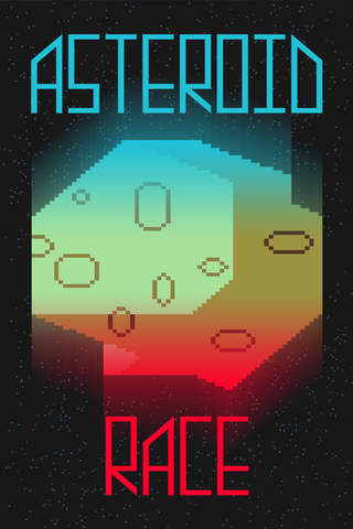Asteroid Race - Dodge and Survive: Free and Addictive Retro Arcade Action Game screenshot 1