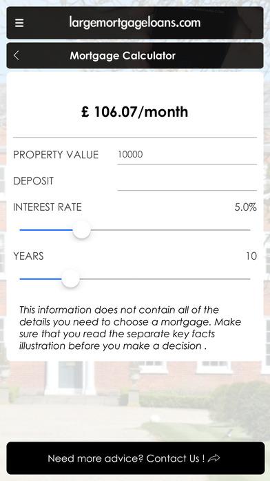 Mortgage Toolkit iPhone Screenshot 1