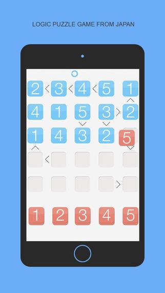 Futoshiki - Puzzle game