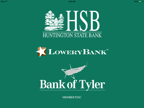 Huntington State Bank Mobile Advantage for iPad