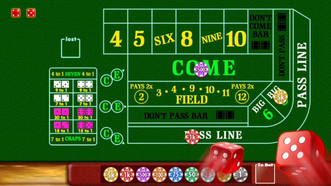 how to play craps in las vegas