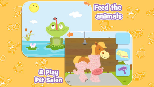 Feed The Animals with Pet Salon - Free Kids Educat