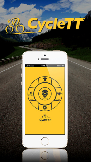 Cycle TT- GPS Tracking Application Let's enjoy Cycling