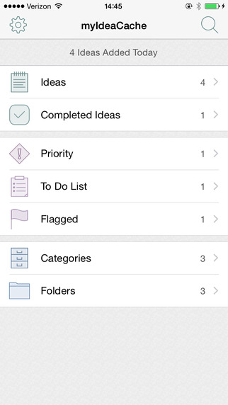 myIdeaCache: Organize Your Ideas
