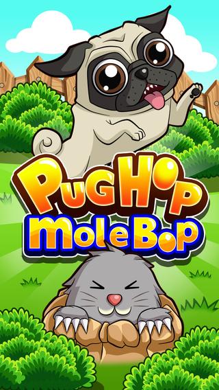 Pug Hop Mole Bop