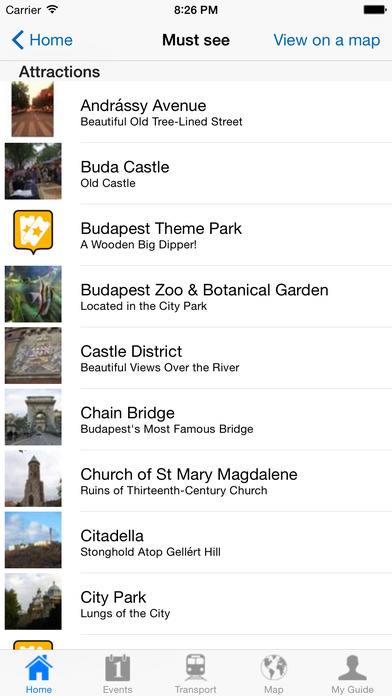 Budapest Travel Guide Offline iPhone Screenshot 4