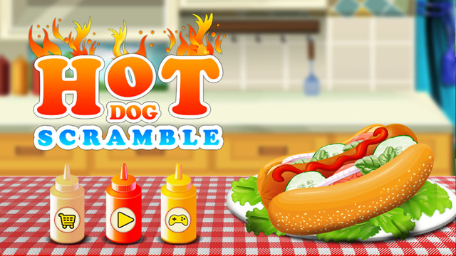 Hot Dog Scramble – Crazy chef cooking and a maker kitchen game