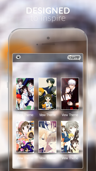 Anime Wall : HD Wallpapers Themes and Fruits Basket Backgrounds Photo