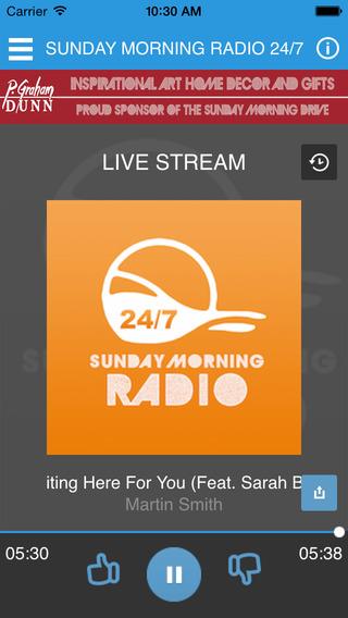 Sunday Morning Radio 24 7