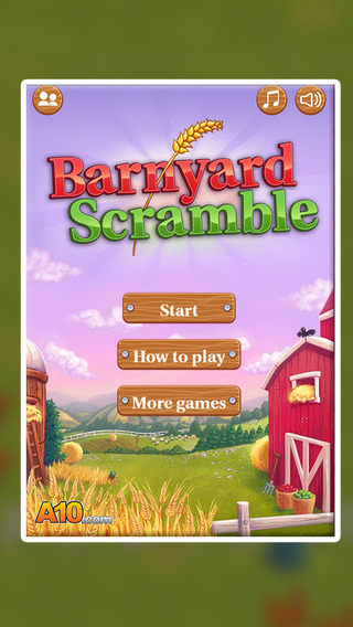 Barnyard Scramble.