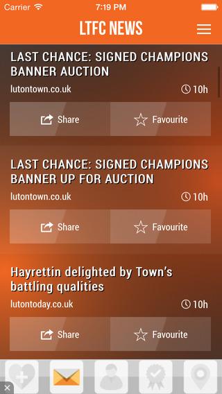 LTFC News App