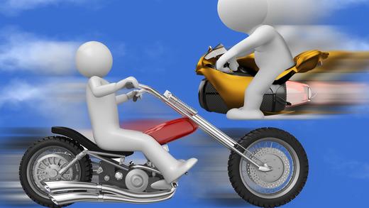 A1 Motorcylce Race Track Jumper Professional