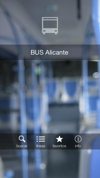 Bus Alicante